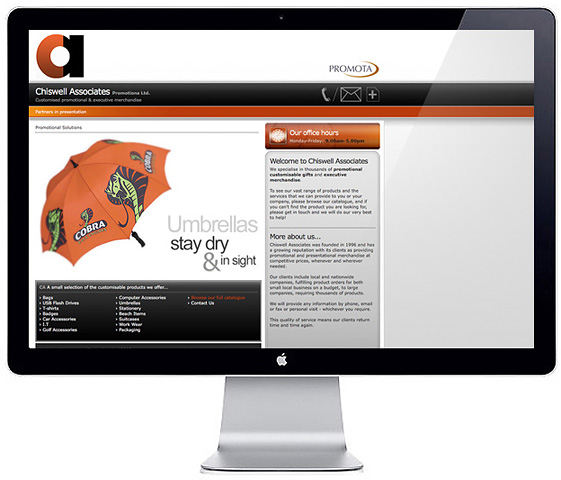 Web Design > Chiswell Associates 2008