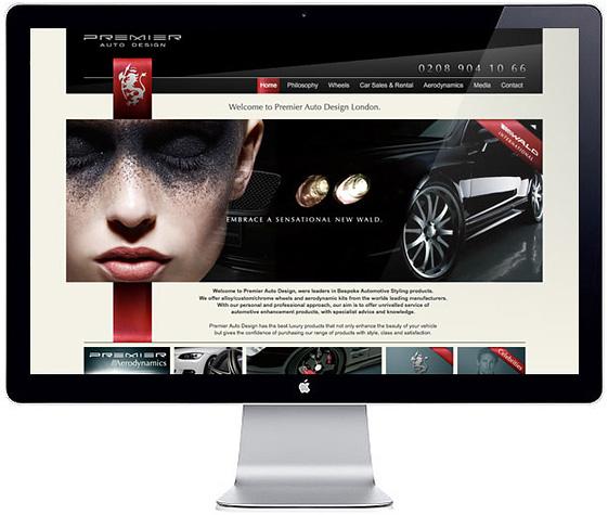 Web Design > Premier Auto Design
