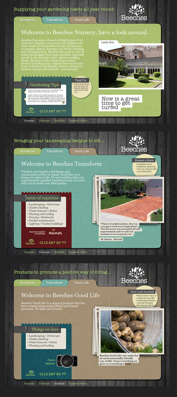 Web Design > Beeches