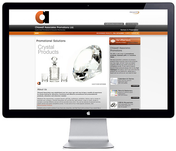 Web Design > Chiswell Associates 2009