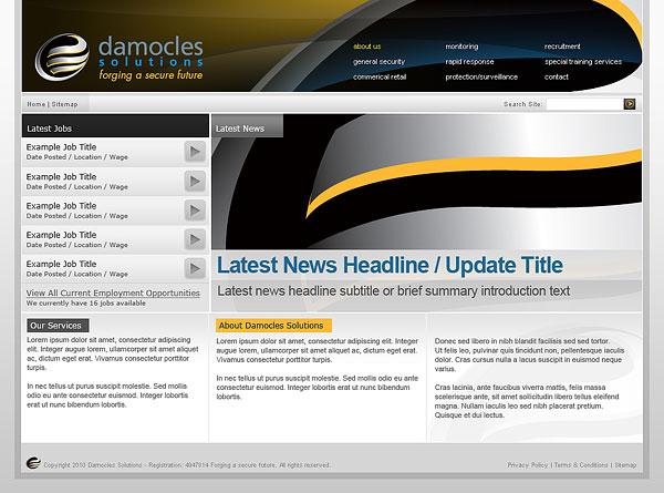 Web Design > Damocles