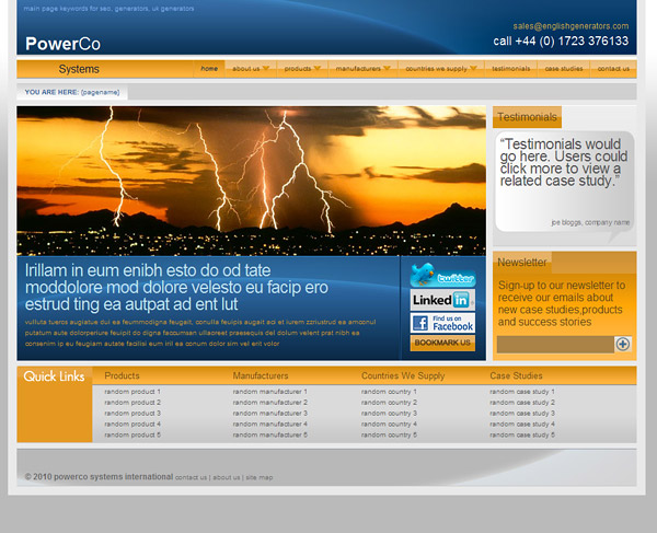 Web Design > Powerco