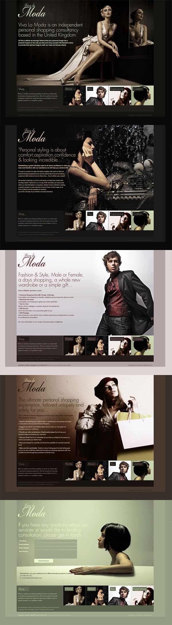 Web Design > Viva La Moda