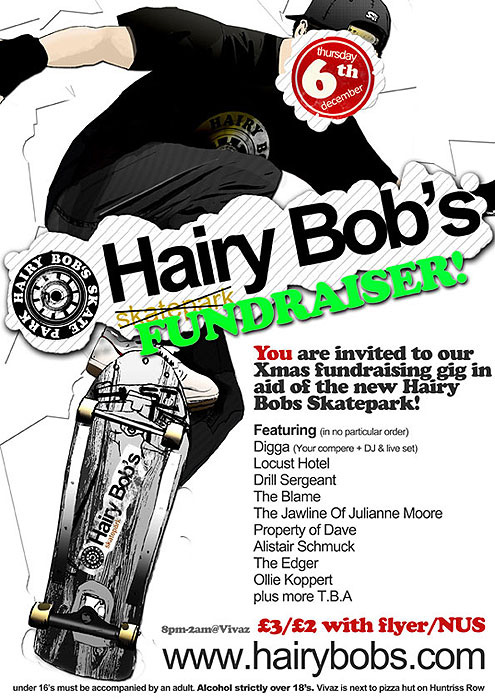 HairyBobs Poster